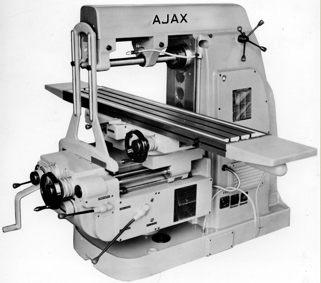 Horizontal Milling Machine >> Ajax Milling Machines