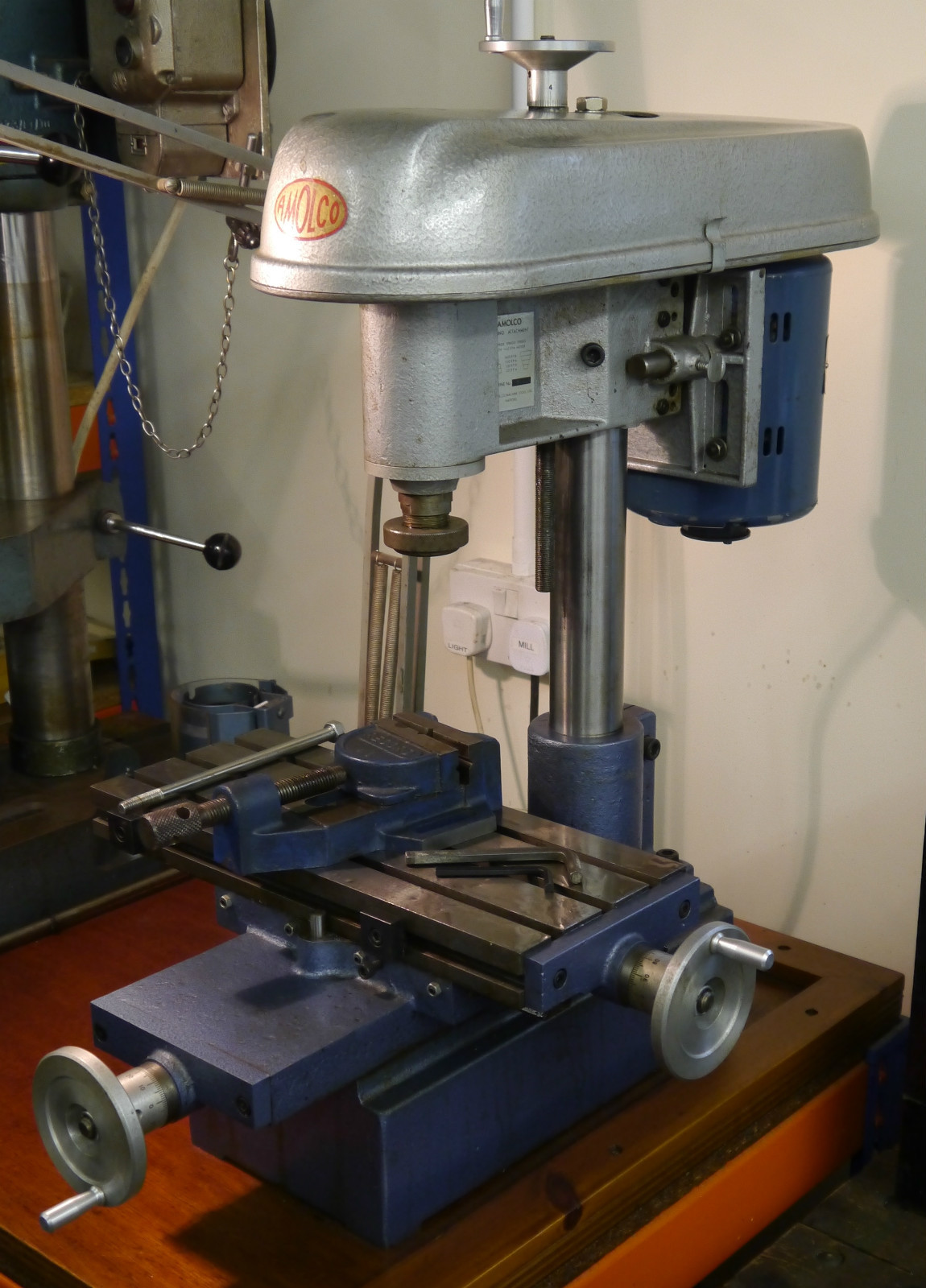 Lathe For Sale >> Amolco Milling Attachment