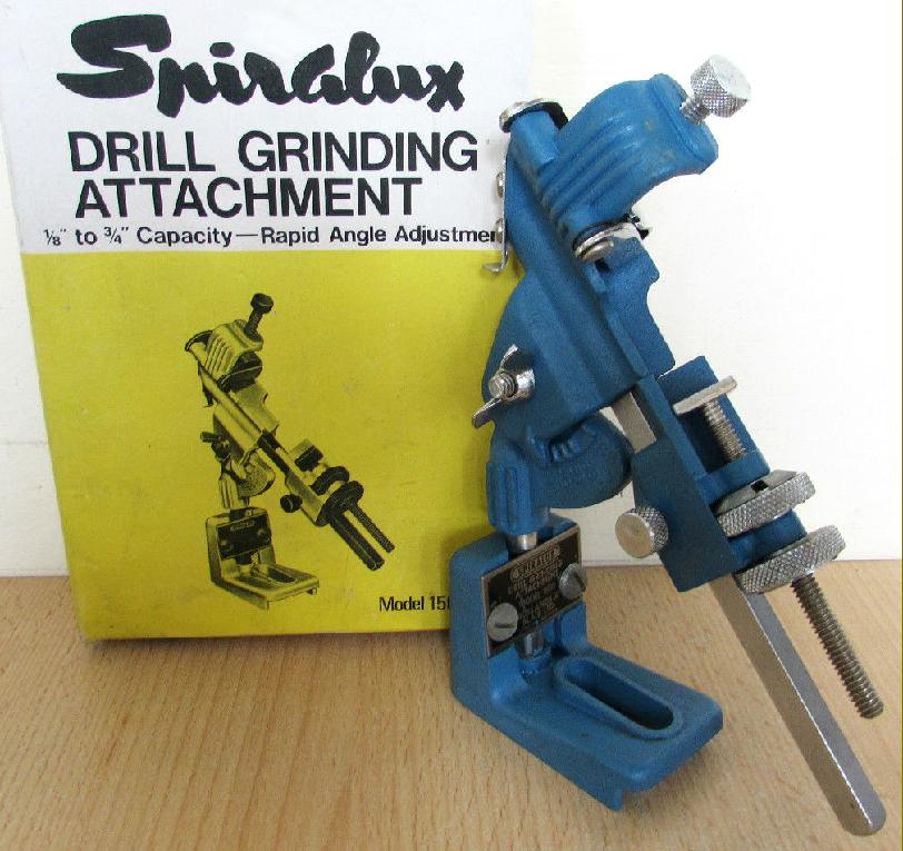 draper drill grinding attachment instructions