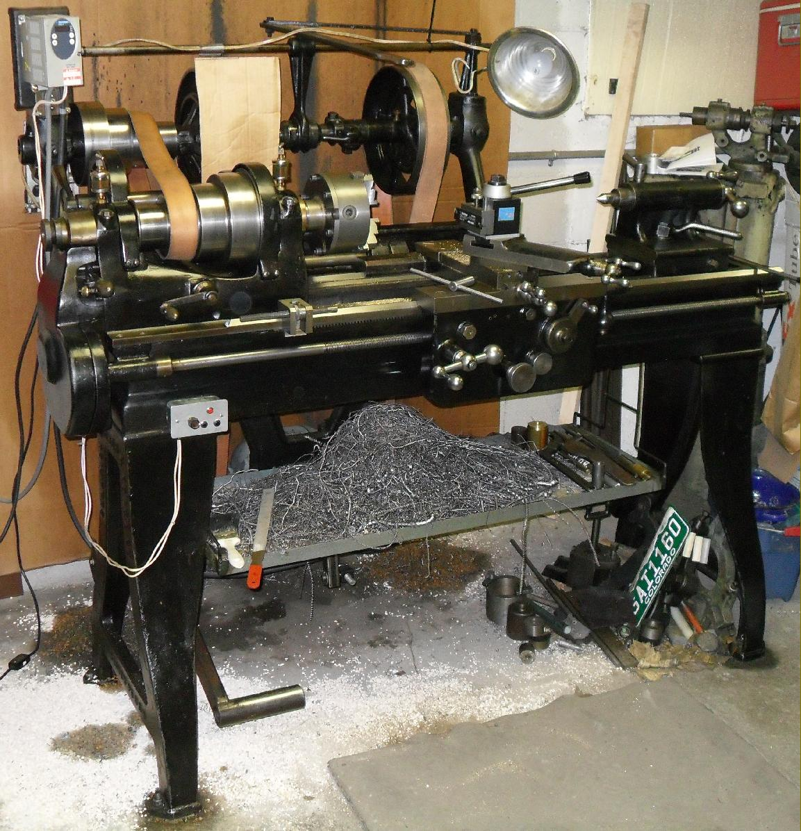 Champion Blower Forge Lathes