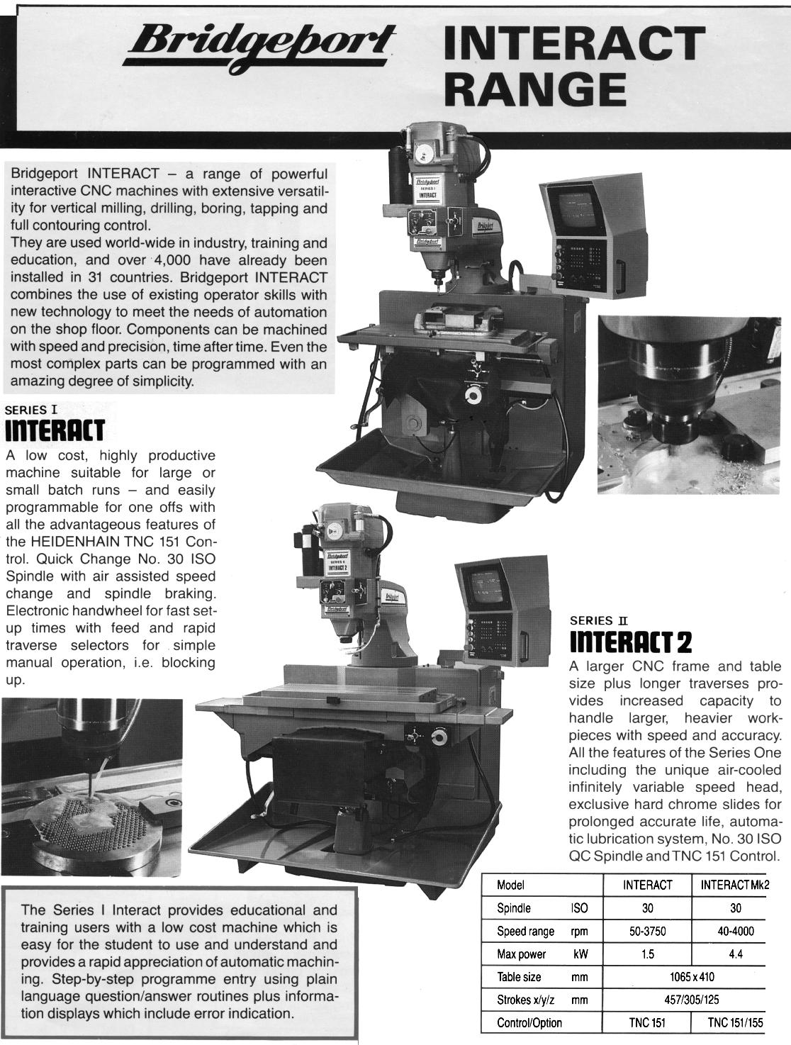 Bridgeport Home Page Manuals for Bridgeport Machine tools can be found here