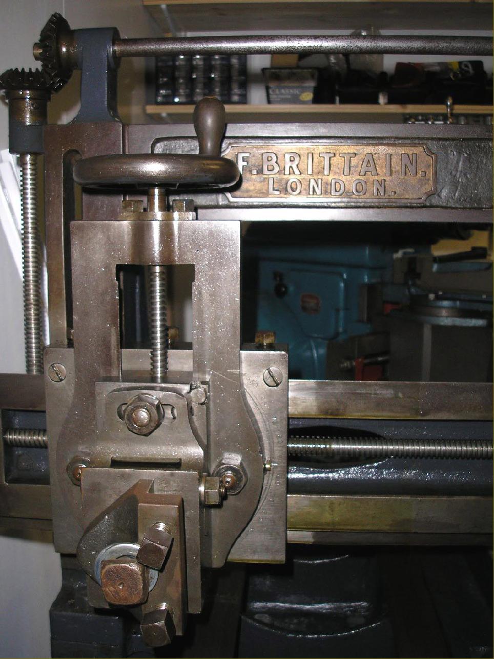 brittain machine