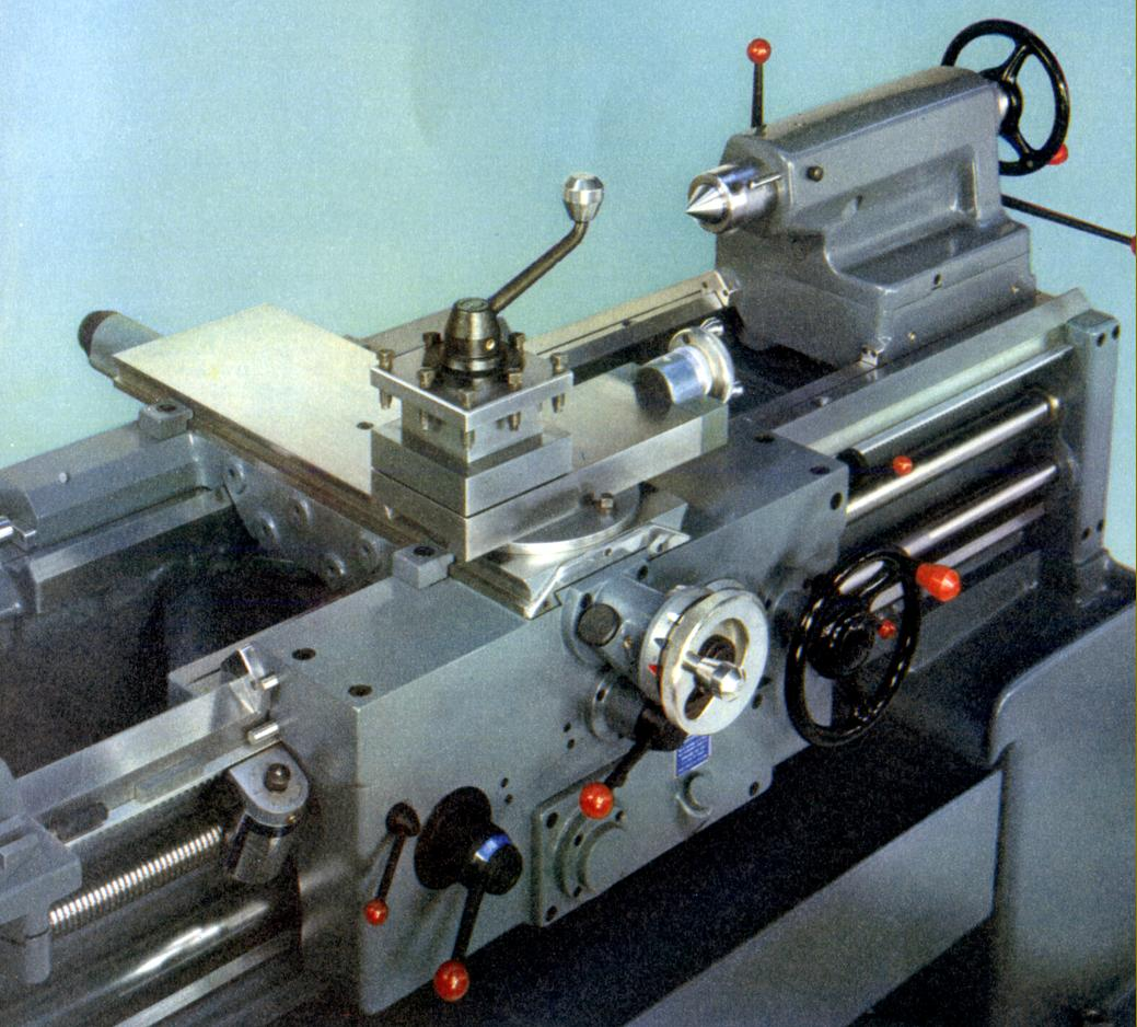 Each unit was scaled for the particular lathe with slide travels of 96, 96  and 134 mm for the HB500, HB575 and HB725 respectively together with a  common ...
