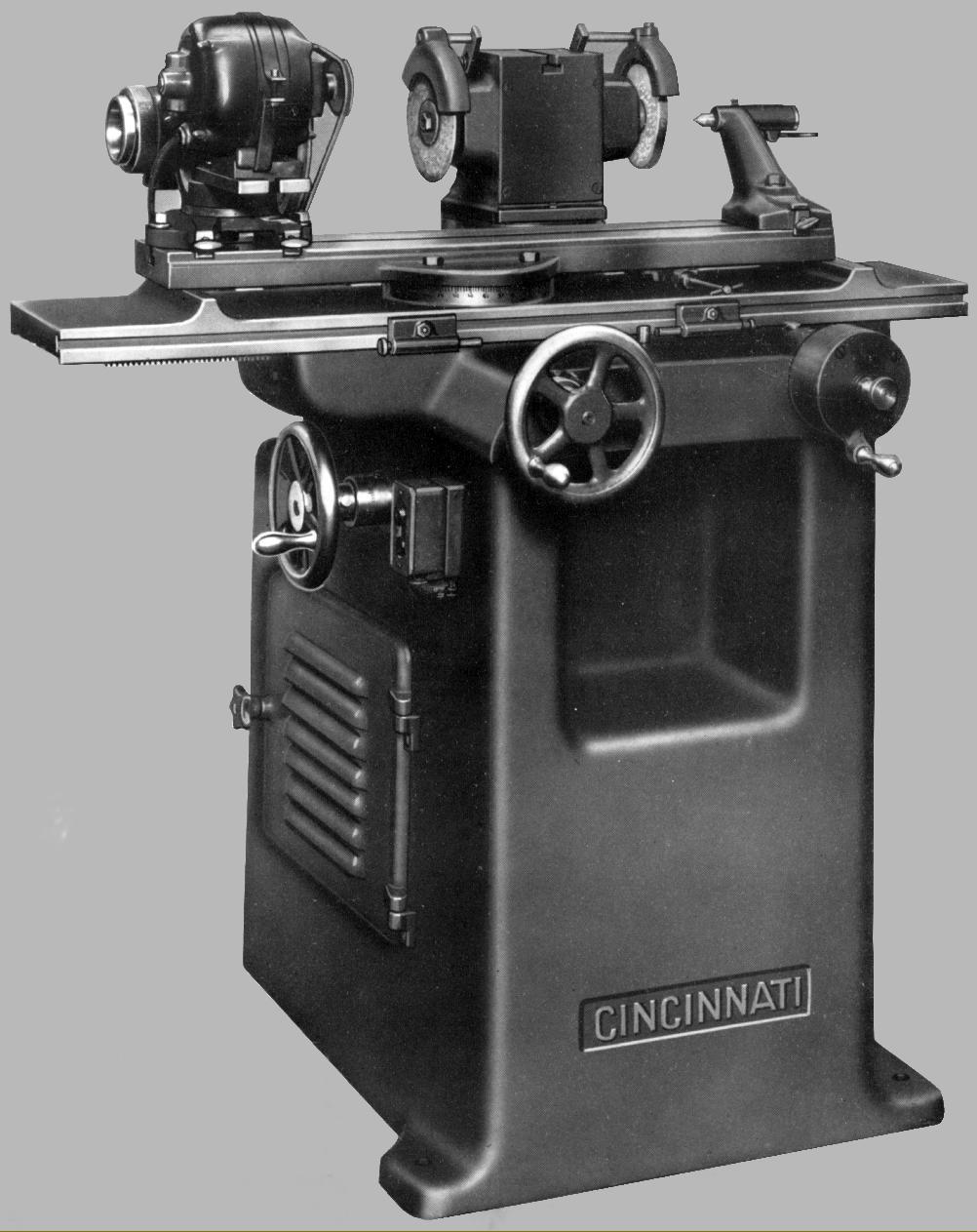 Cincinnati No 2 Tool  U0026 Cutter Grinder