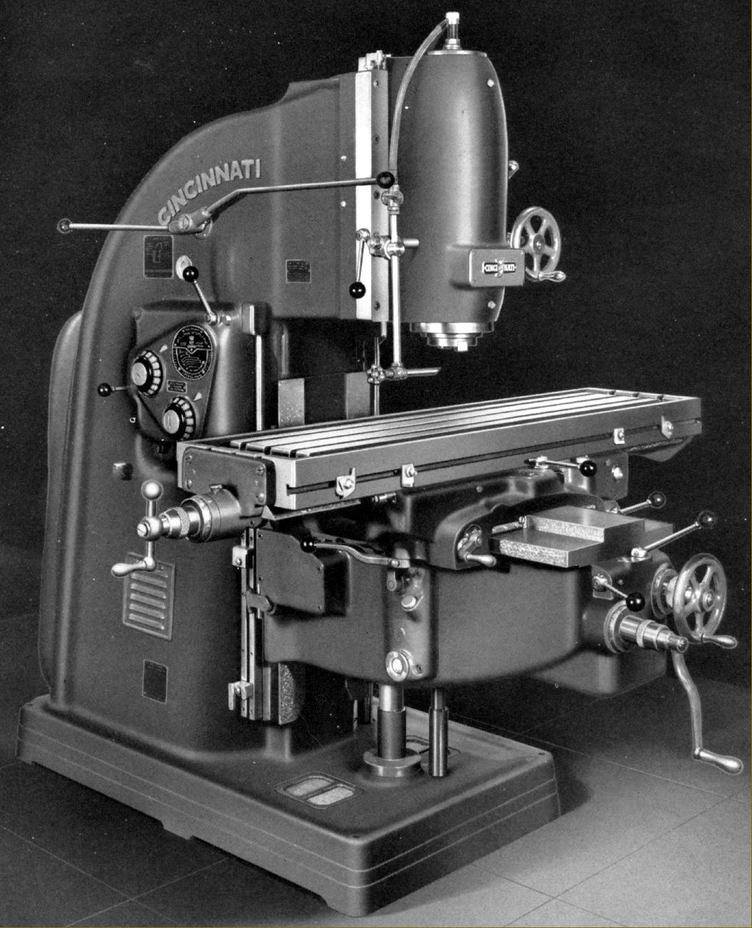 cincinnati 2 milling machine