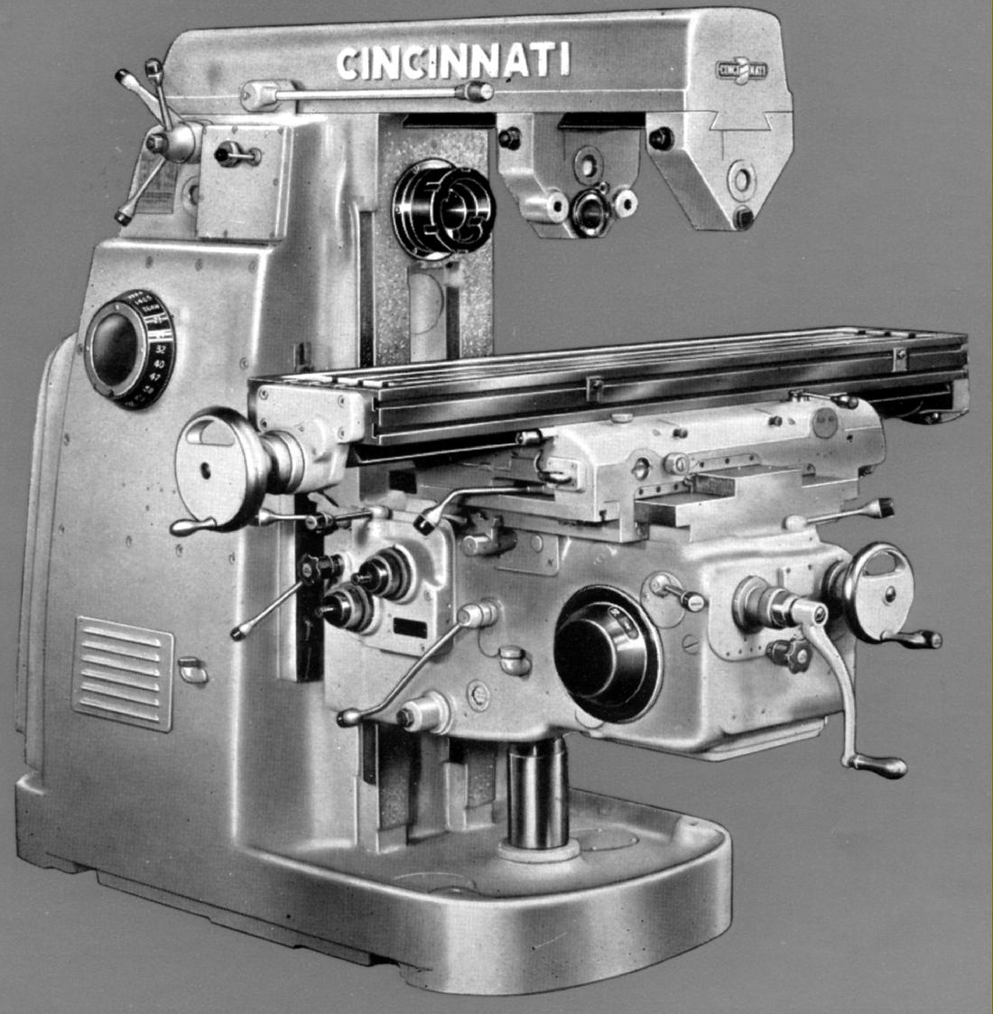cincinnati milling machine serial numbers