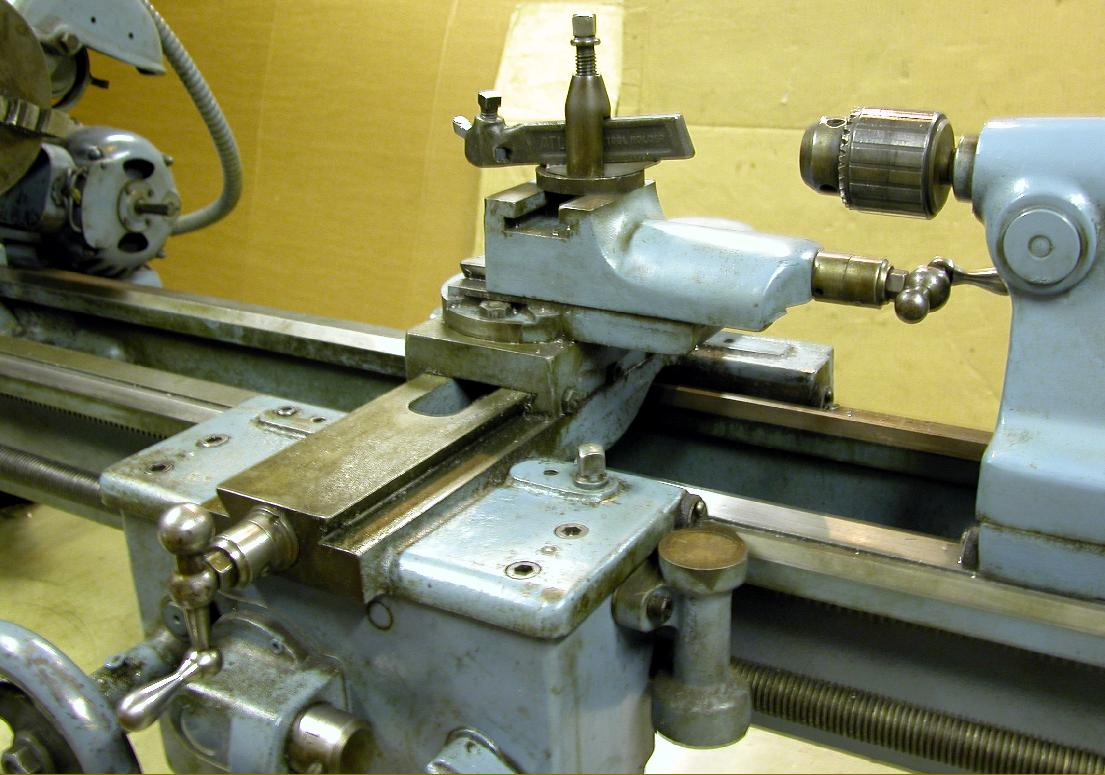 Atlas 4800 lathe - final version of the Clausing 100 Series