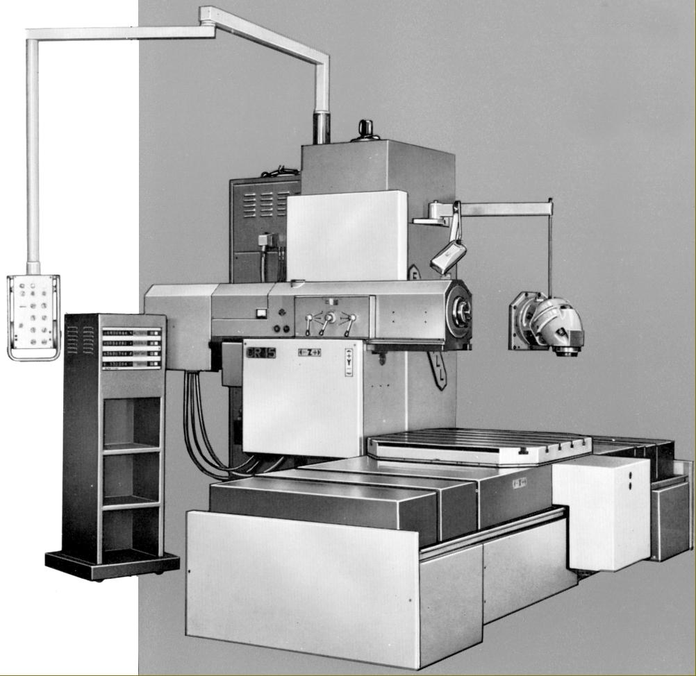 Butler Elgamill Milling and Boring Machines
