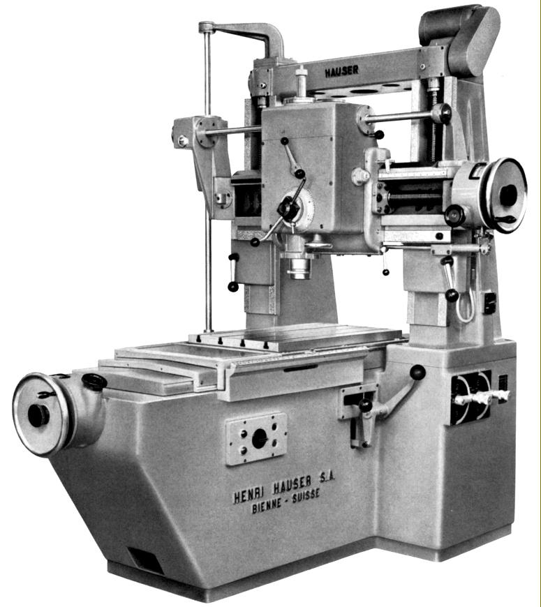 Jig Bore Rotary Table : Hauser jig borers page