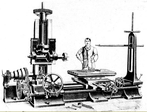 machine tools 1800s. huron backgeared and screwcutting lathe from the late 1800s. design was absolutely typical of time--though this example appear to mount some sort machine tools 1800s