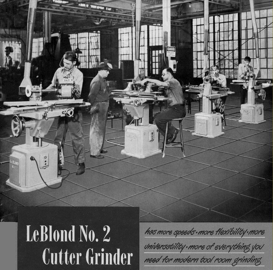 Greenfield Idler Pulley Belts: LeBlond No.2 Tool & Cutter Grinder