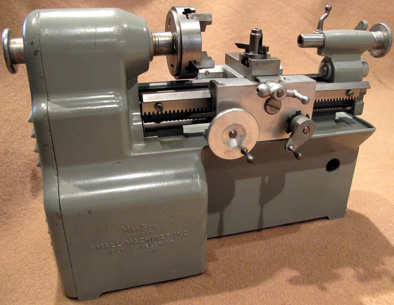 Wtb Manson Lathe With Accessories