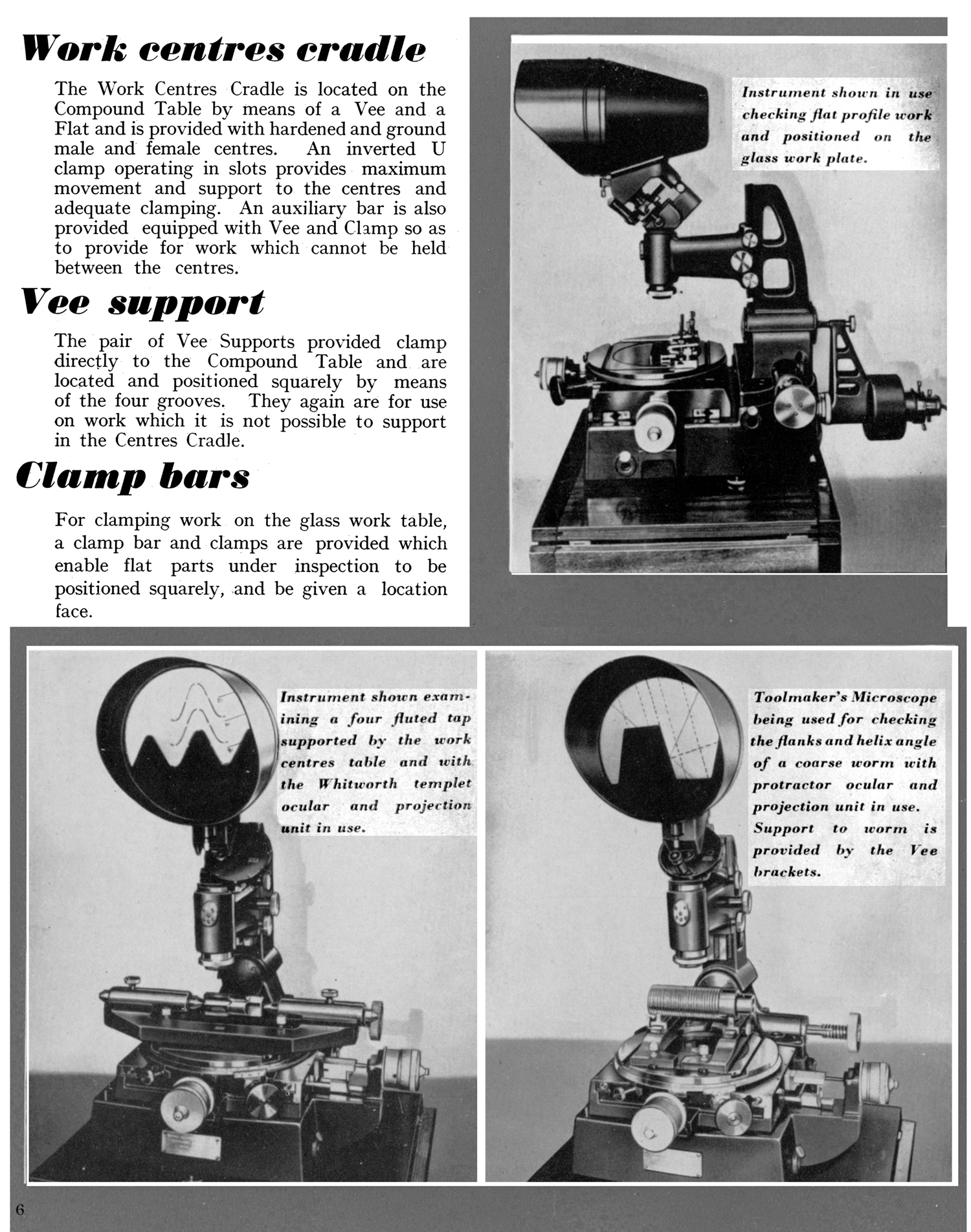 OMT Toolmakers' Microscope