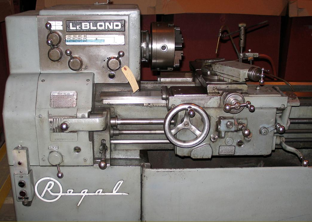 leblond regal lathes s to s late model 1960s leblond regal 13 inch the standard 4 lever all geared not a servo shift headstock not all versions had the regal across the