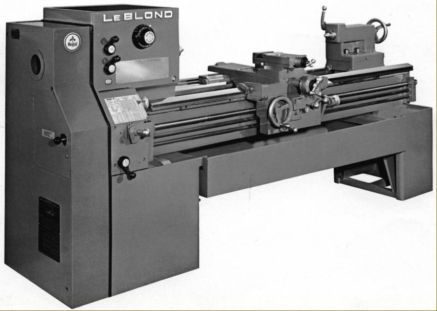 leblond regal lathes 1950s to 1980s rh lathes co uk Leblond Lathe Identification LeBlond Regal Lathe