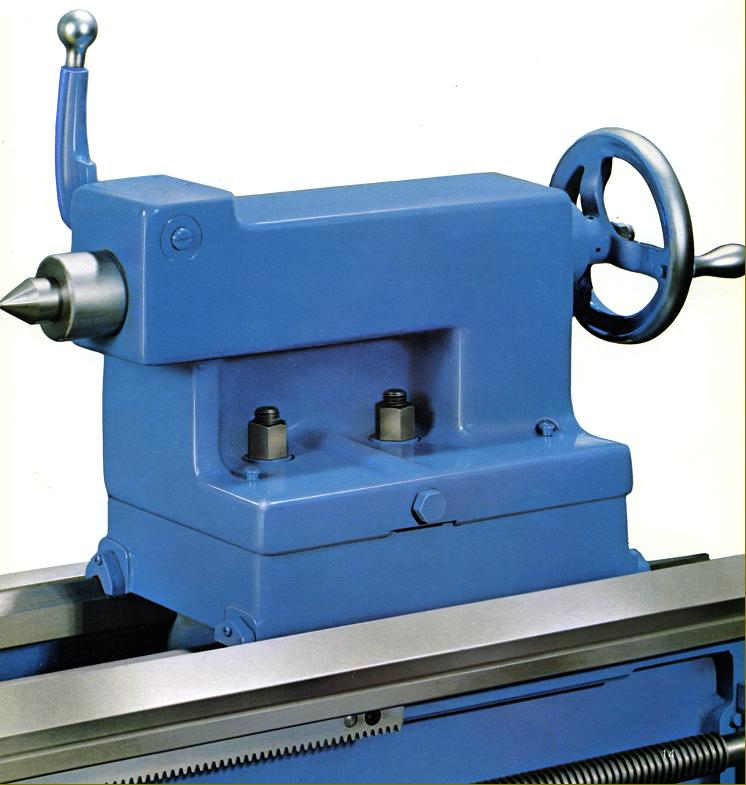 leblond regal lathes s to s regal 19 inch tailstock twin bed clamps and a self hiding wrench