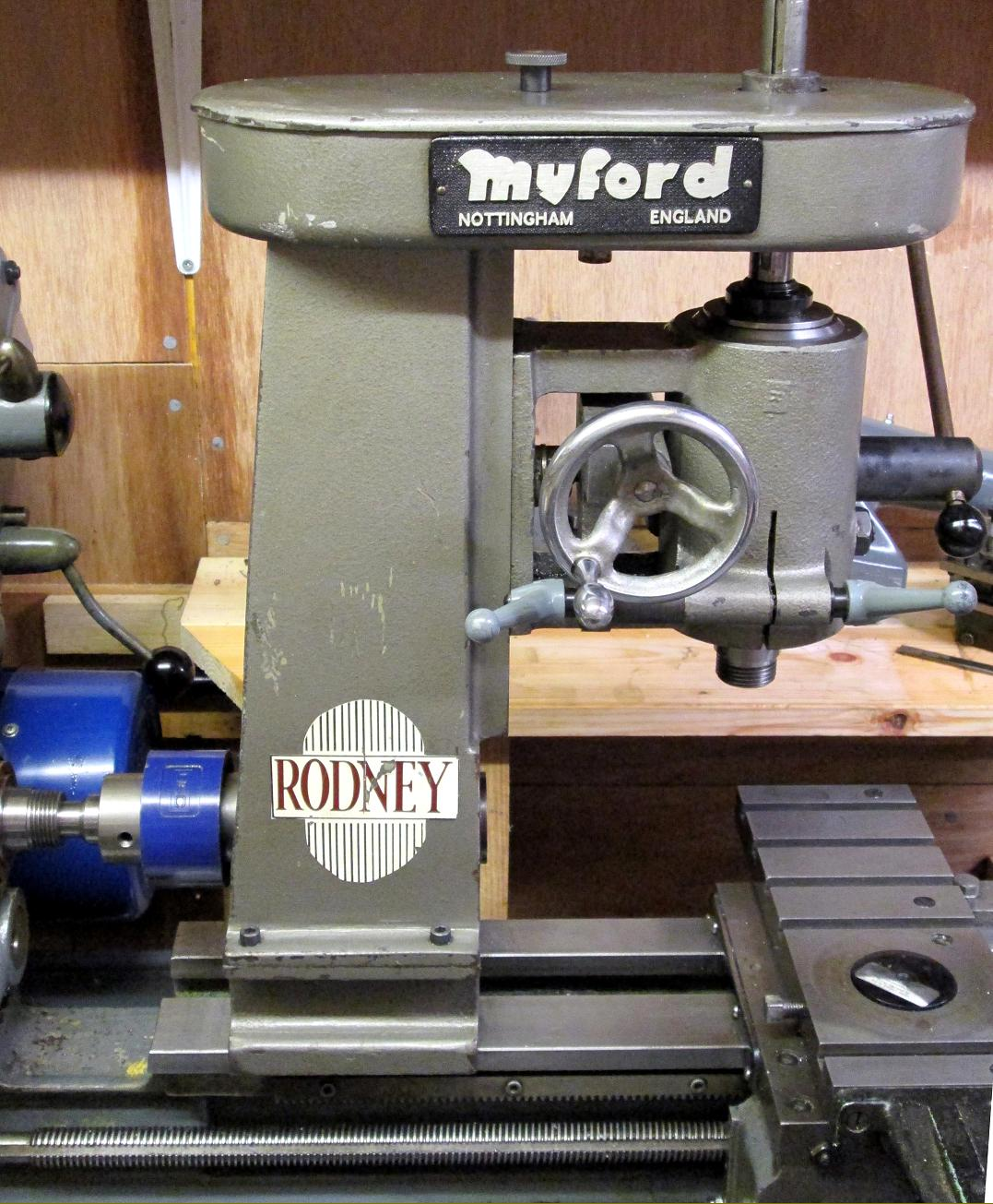 Rodney Milling Machine & Attachment