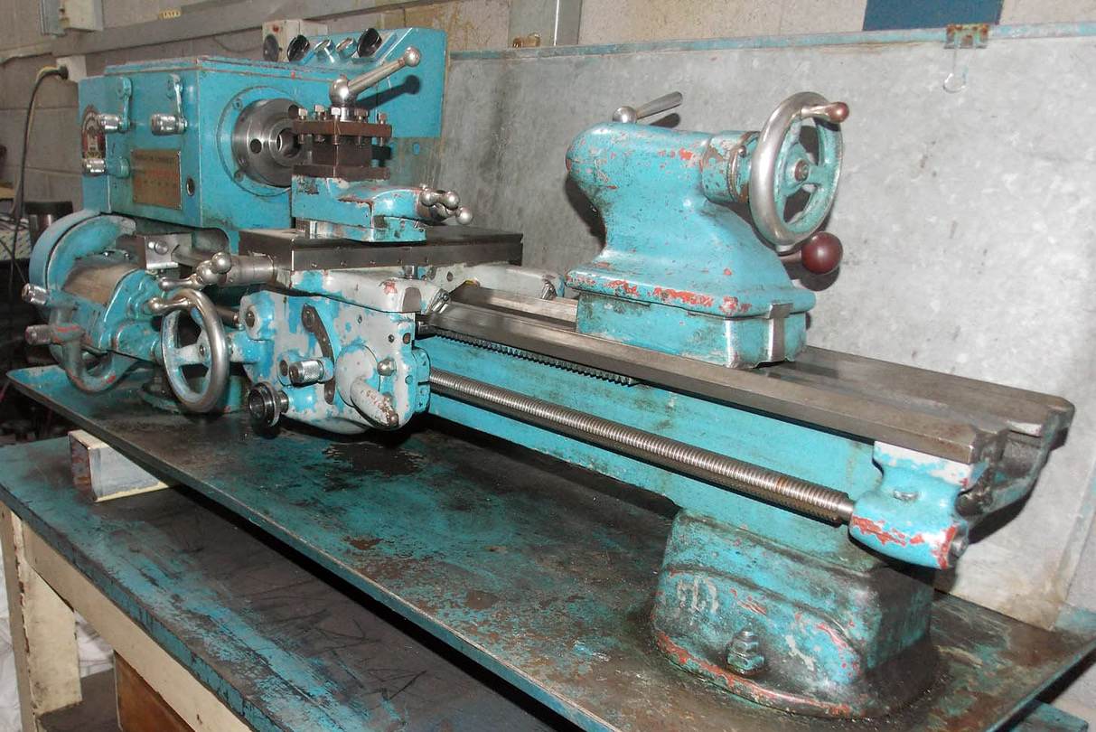 Sheraton Lathe South Bend Copy Conquest Pump Wiring A Mk 1 In Effect 9 Inch Model But With Geared Headstock And Camlock Spindle Nose