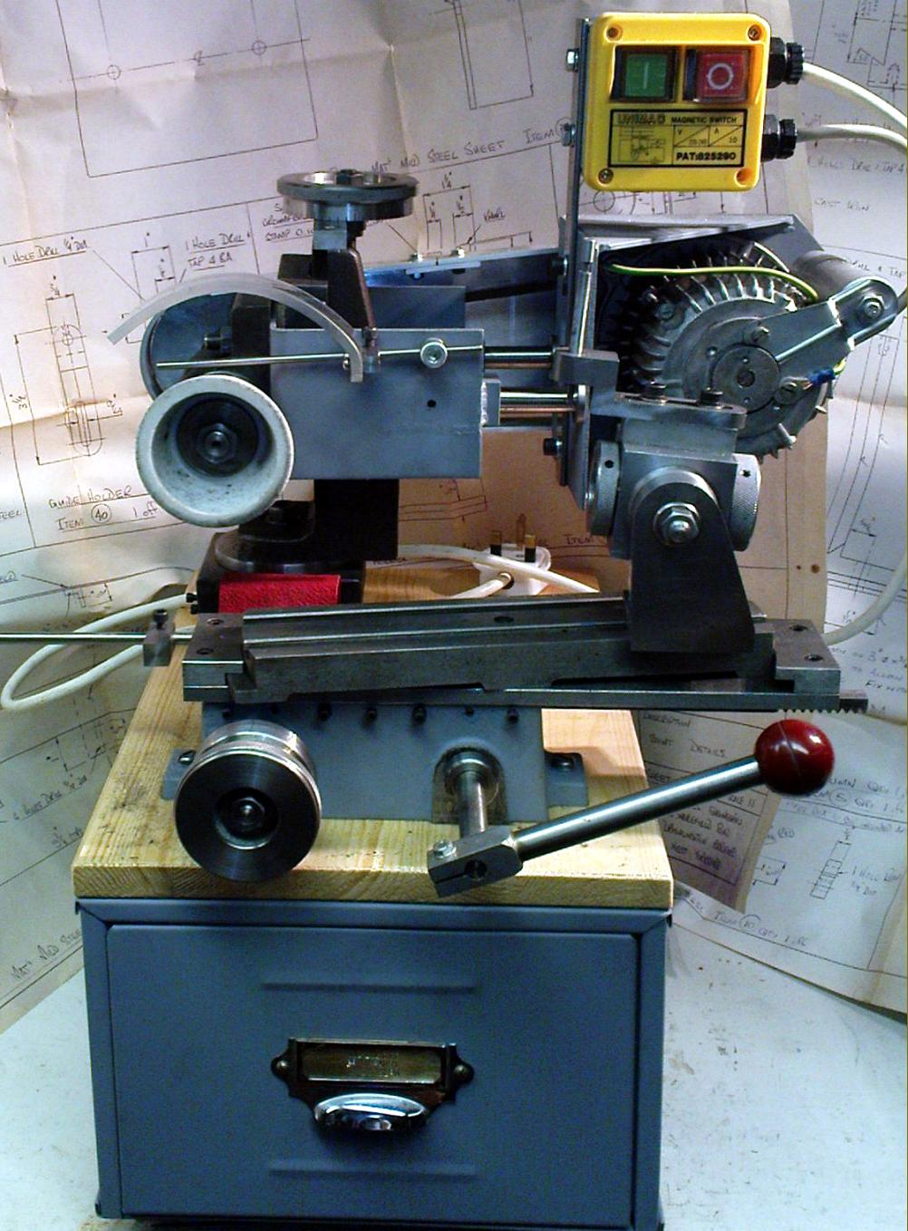 Tool And Cutter Grinder ~ Stent tool cutter grinder