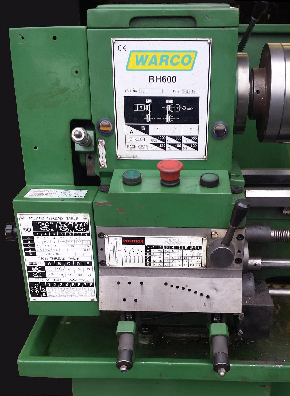 Taiwanese Lathes By Braziers Lantaine Enco Wey Ii Corp Warco Lathe Wiring Diagram A Slightly Different Version